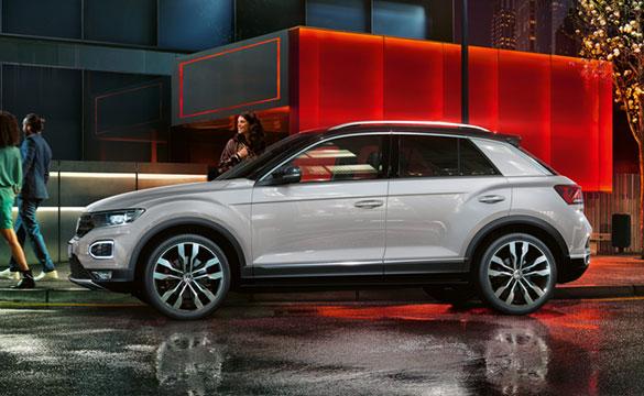 T Roc Explore Amp Style Volkswagen Uk