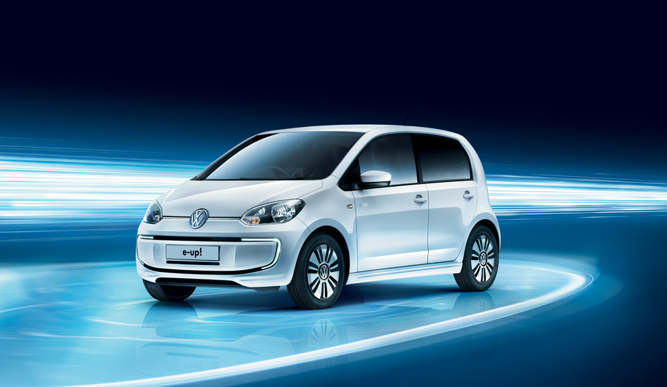 Volkswagen e-Up exterior view left side large