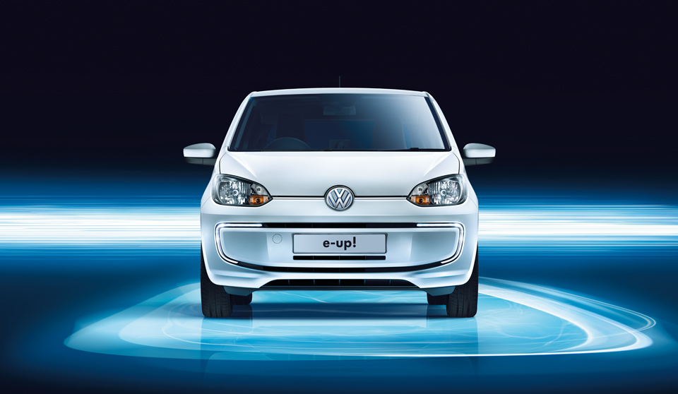 Volkswagen e-Up exterior view front large