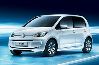 Volkswagen e-Up exterior view left side large thumbnail