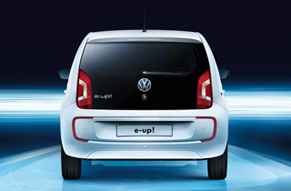Volkswagen e-Up exterior view rear large thumbnail