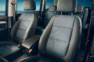 Volkswagen Sharan FL interior view front seats thumbnail