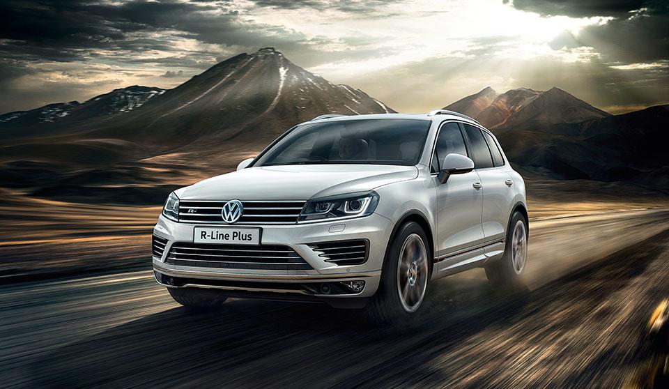 Тестируем Volkswagen Touareg