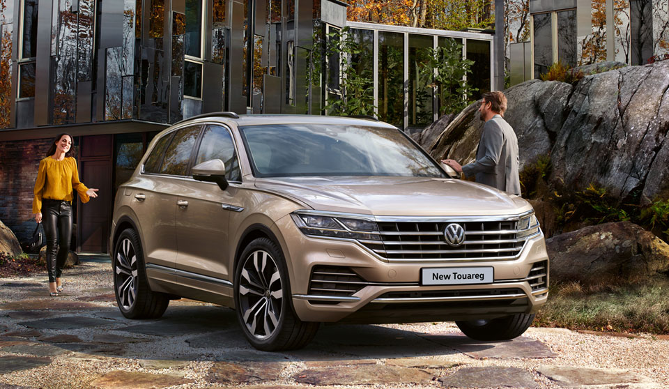 Volkswagen Touareg R-Line available from £523 a month with