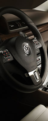 Volkswagen CC's left panel