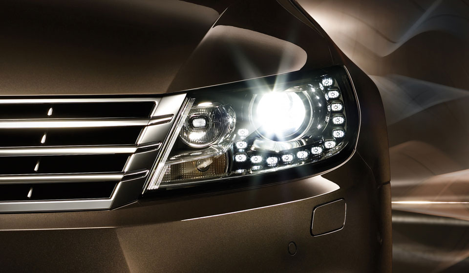 Brown Volkswagen CC FL exterior view front left headlamp thumbnail