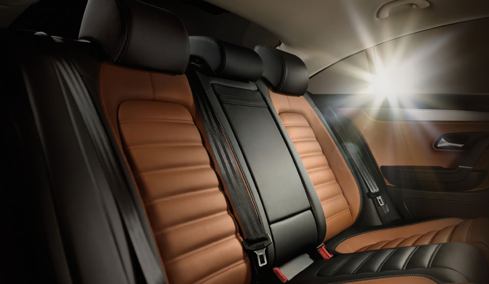 Volkswagen CC FL interior view rear seats thumbnail