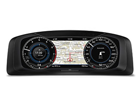 Golf GTE Active Info Display