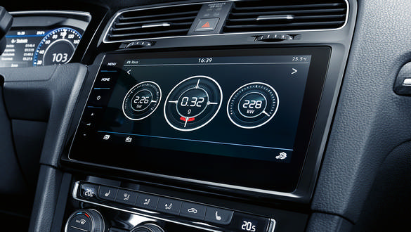 Image result for 2019 vw golf r infotainment