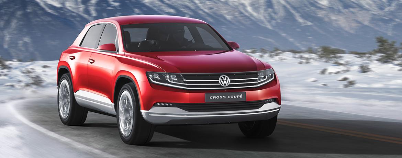 Vw Cross Coupe Concept Volkswagen Uk