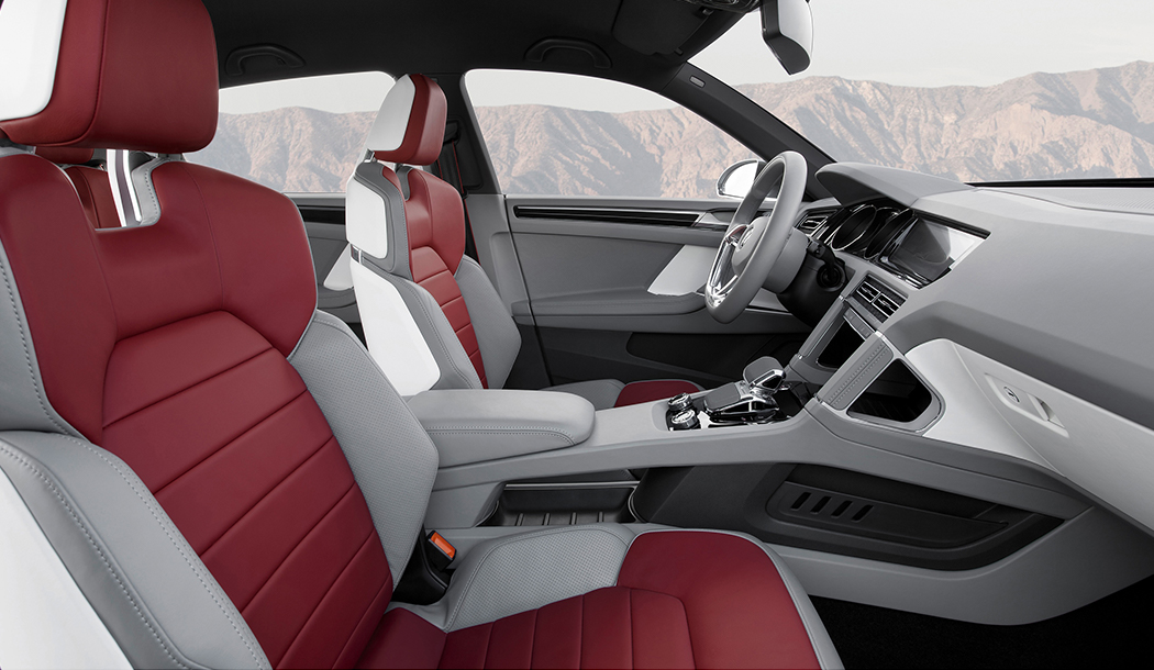 Volkswagen cross coupé concept interior