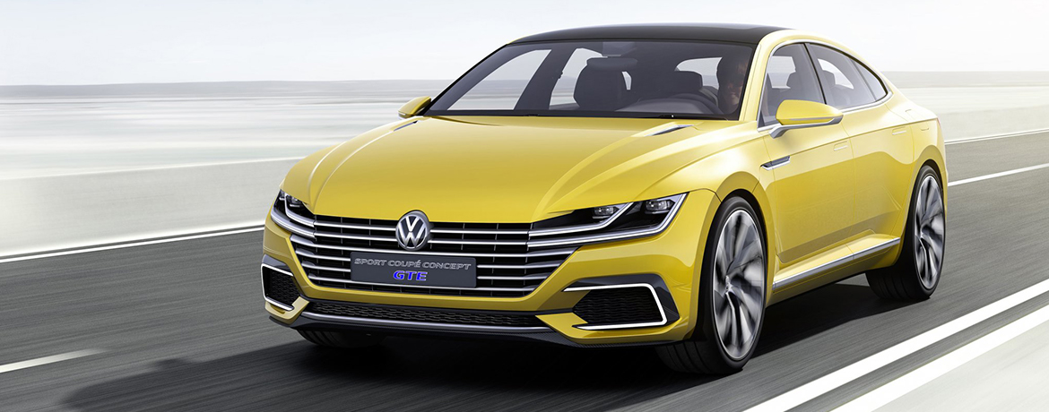 vw sport coupe concept gte | volkswagen uk