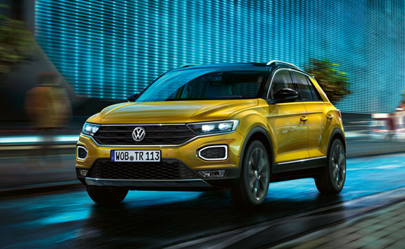 T-Roc yellow