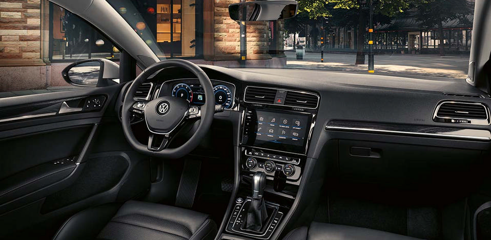 Interior of Golf