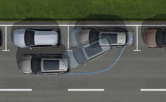 Golf Park Assist technology