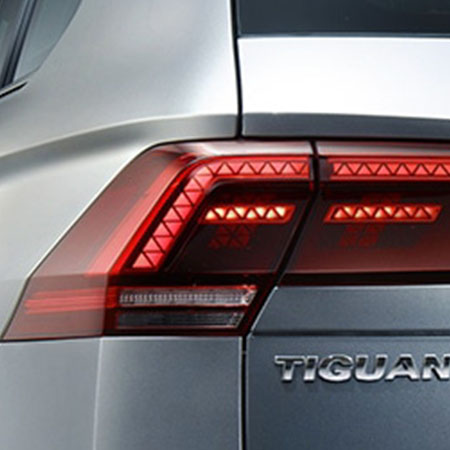 Tiguan Allspace LED headlights and rear lights