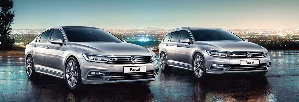 Passat Saloon and Passat Estate