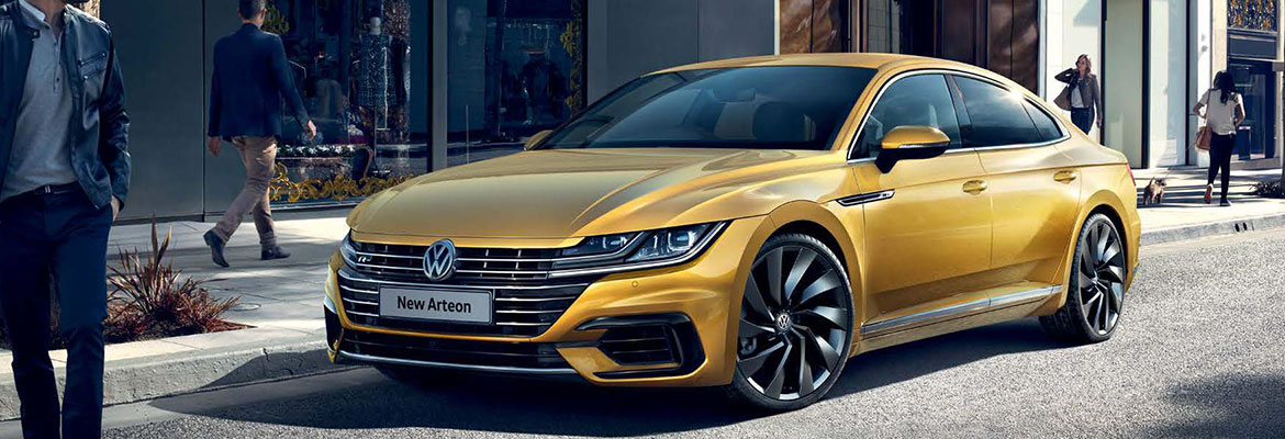Arteon on the road