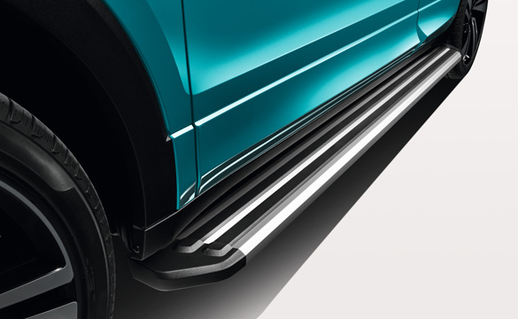 Running boards on a T-cross