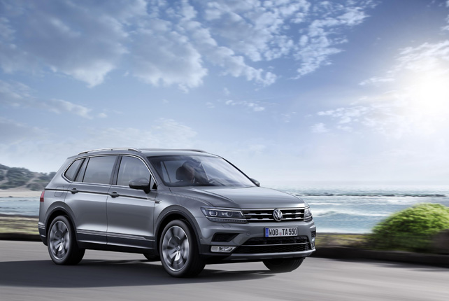 New Tiguan Allspace Now Open For Order