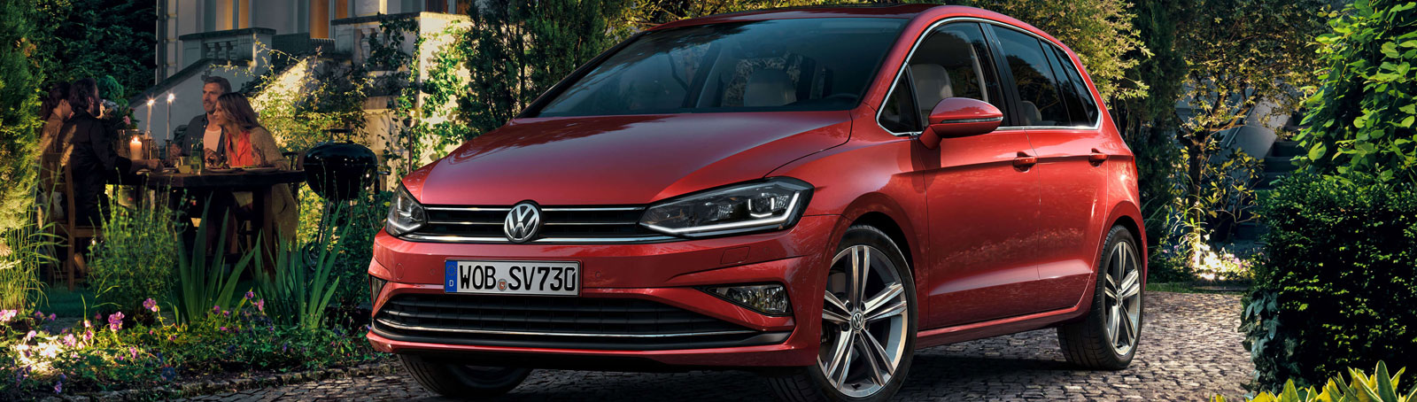 The new Volkswagen Golf SV