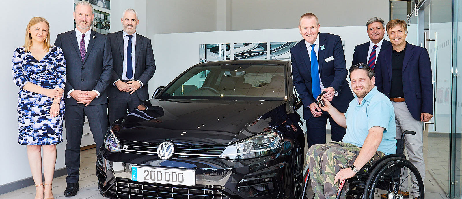 Production milestone as Volkswagen delivers 200,000th 'R'