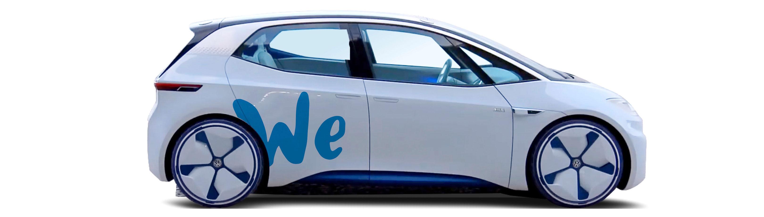 volkswagen  offer  emission car sharing services  future