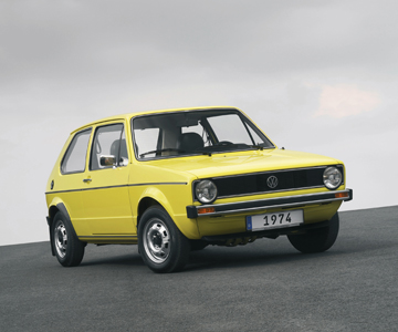 Yellow Golf from 1974