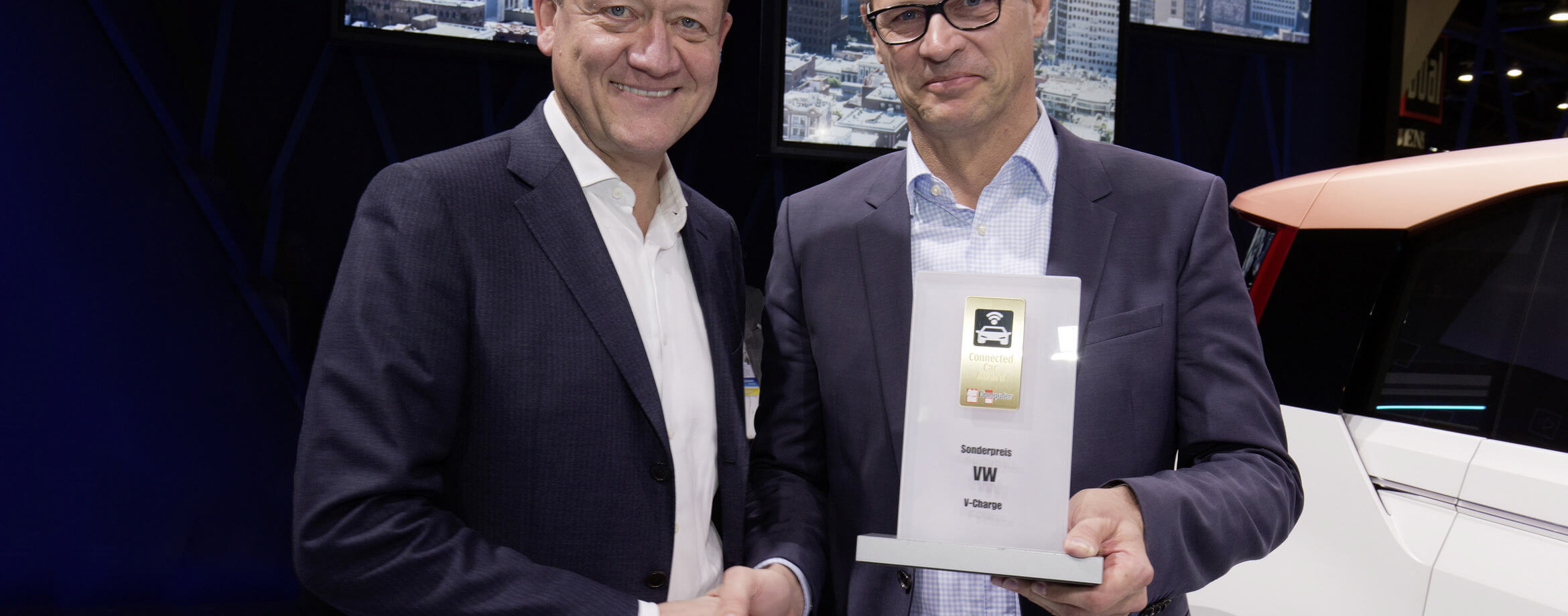 Volkswagen Awards Show Connected Car