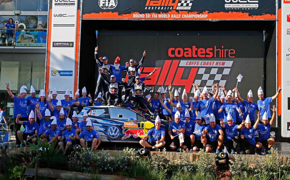 World Rally Champions team shot
