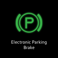 Electronic parking brake active light