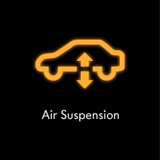 Air Suspension warning light