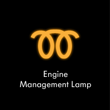 Diesel engine management lamp