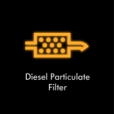 Diesel Particulate Filter Yellow
