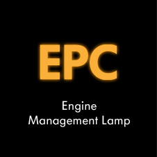 Petrol engine management lamp