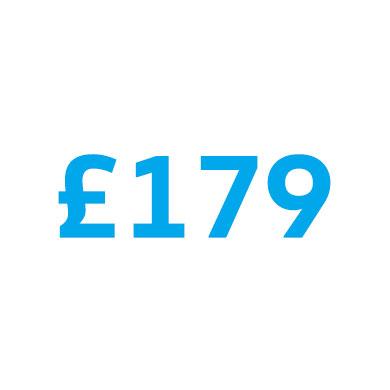 £179 price