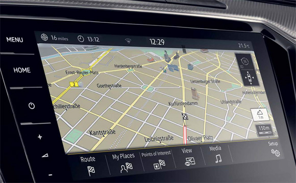 Used Arteon with Car-Net installed