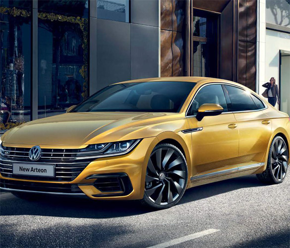 Used Arteon in Metallic Yellow
