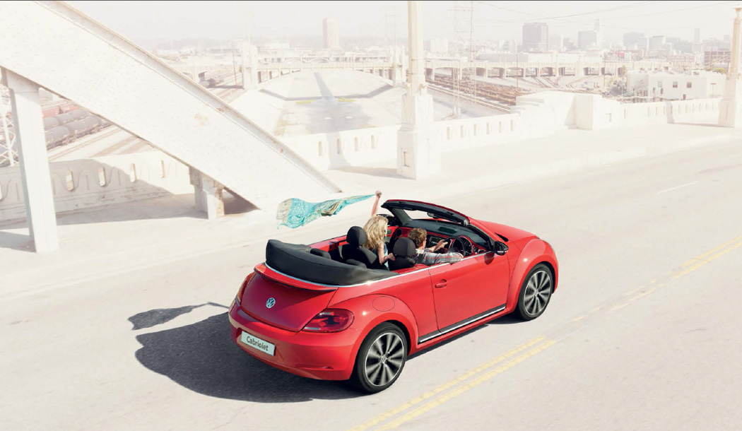 Used Beetle Cabriolet - Urban Driving