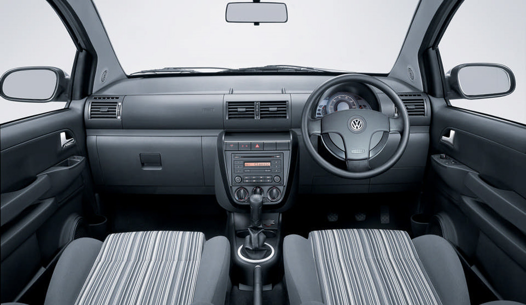 Used Fox interior with dashboard and steering wheel