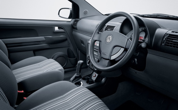 Used Fox interior with steering wheel