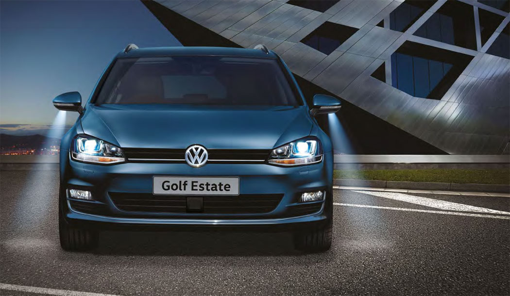 Used Golf Estate in blue
