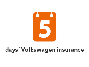 5-day Volkswagen insurance