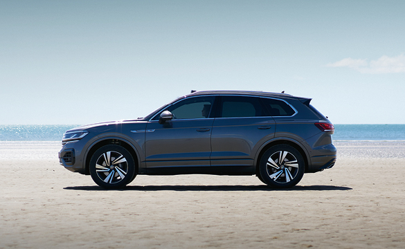 The Touareg 48-hour test drive