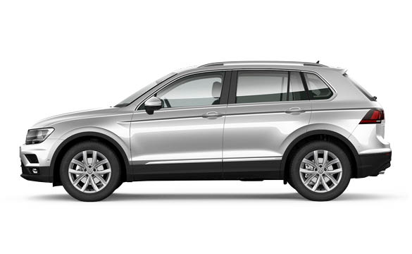 Tiguan: we'll pay your first 3 months rental£282 a month
