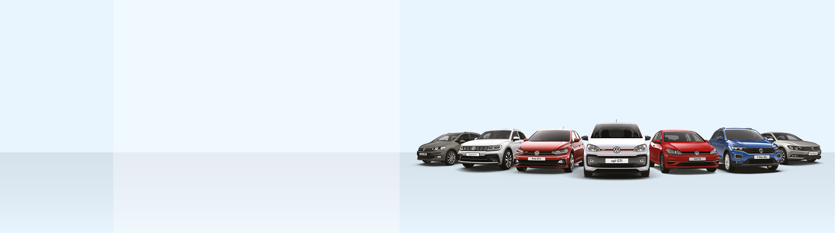 Take your favourite Volkswagen for a test drive.